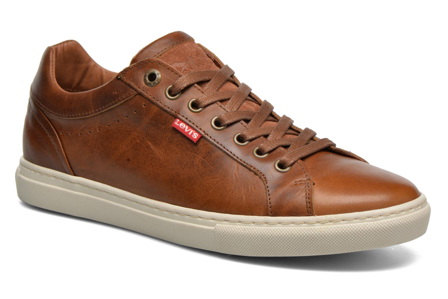 Baskets Levi's Perris Derby Marron vue détail/paire