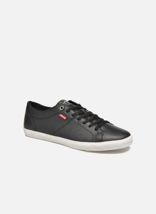 Sneakers Levi's Woods Zwart detail