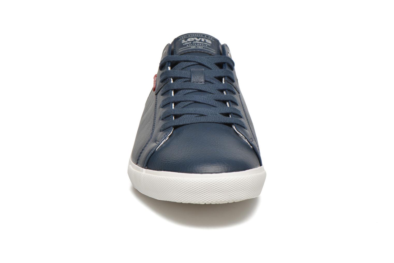 Sneaker Levi's Woods blau schuhe getragen