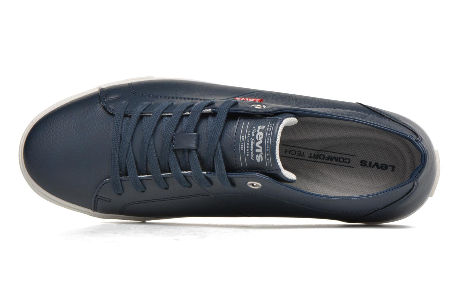 Sneakers Levi's Woods Azzurro immagine sinistra