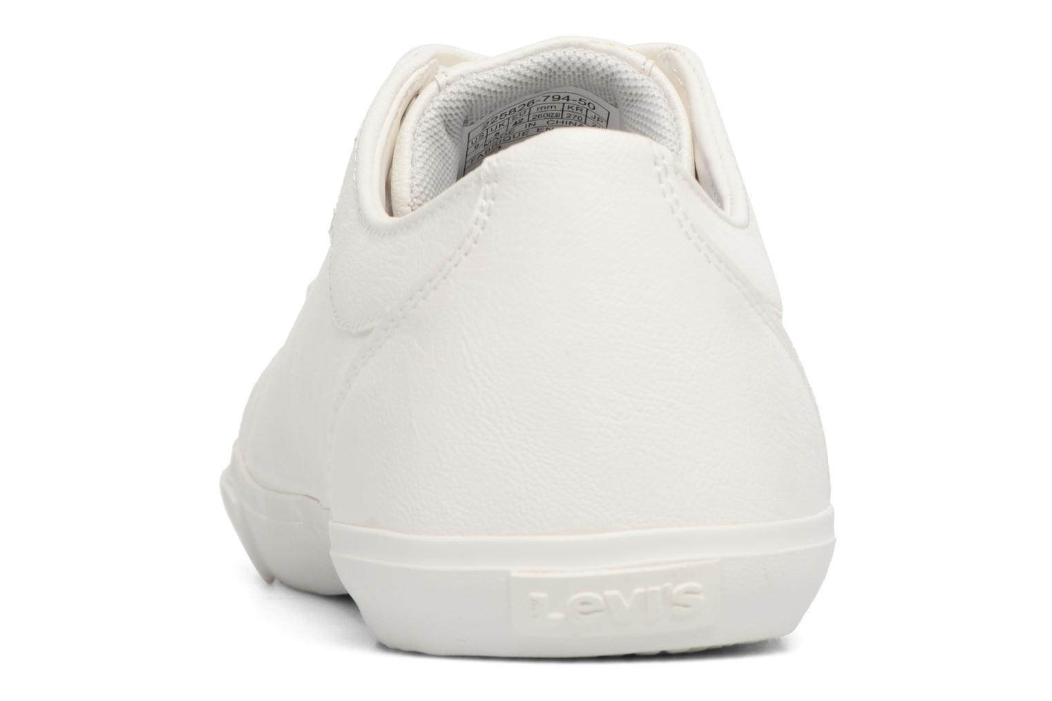 Sneakers Levi's Woods Bianco immagine destra