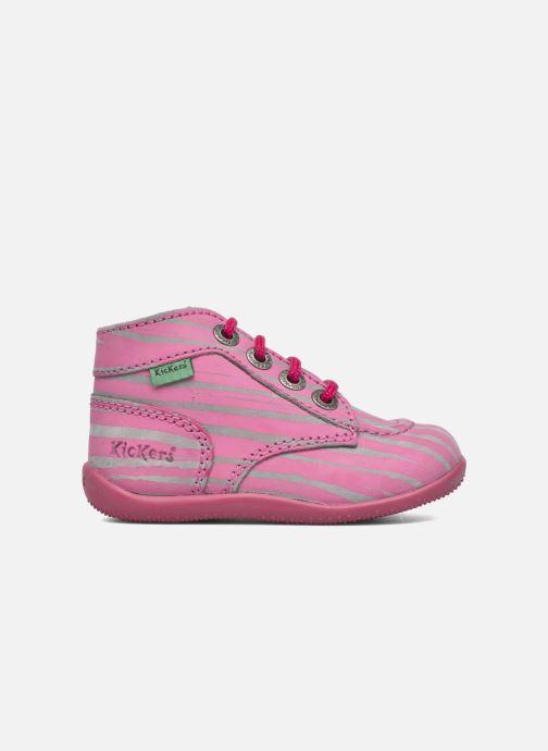 Boots en enkellaarsjes Kickers Bonbon II Roze achterkant