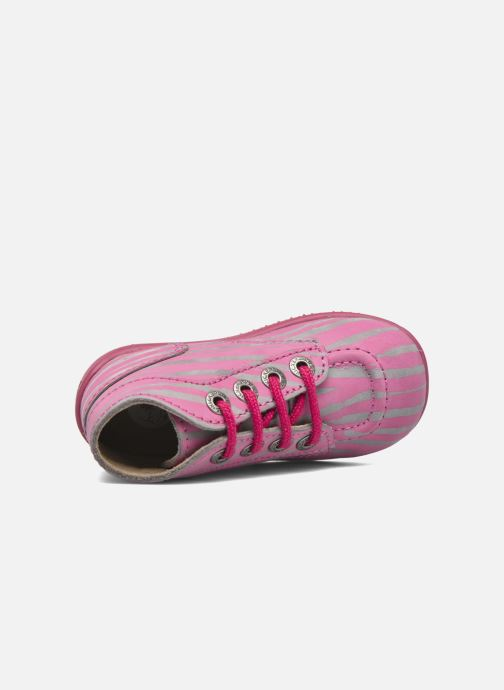 Boots en enkellaarsjes Kickers Bonbon II Roze links