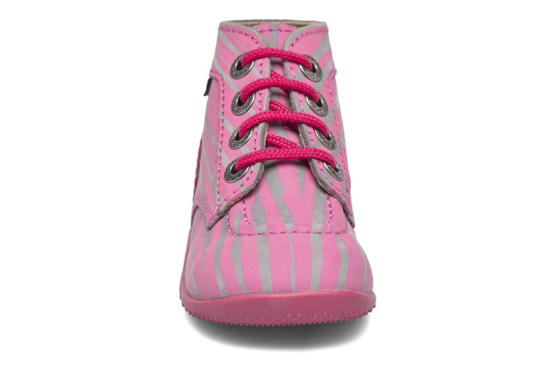 Bottines et boots Kickers Bonbon II Rose vue portées chaussures