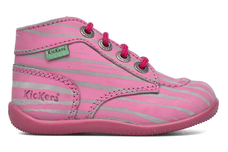 Bottines et boots Kickers Bonbon II Rose vue derrière