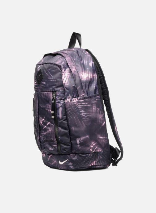 Sacs à dos Nike Auralux backpack Sac à dos Violet vue portées chaussures