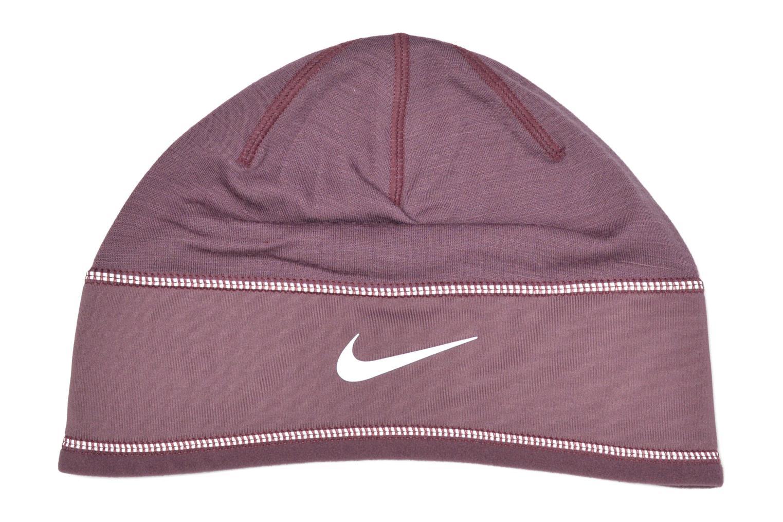 Berretto Nike Running knit hat Bonnet Viola modello indossato