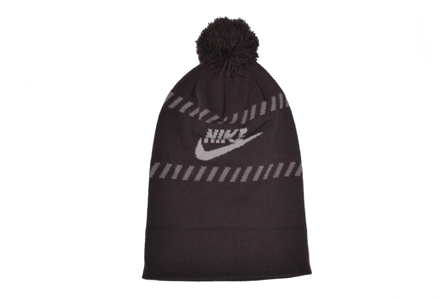 Beanie Nike Futura Pom Beanie-Red Bonnet Black detailed view/ Pair view