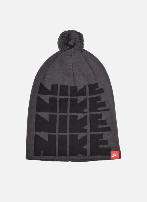 Muts Nike Futura DNA Beanie-Red Bonnet Grijs detail