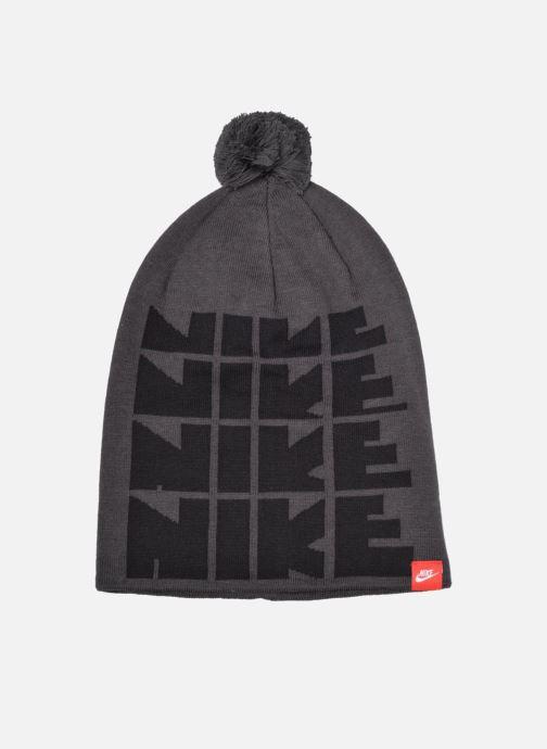 Bonnets Nike Futura DNA Beanie-Red Bonnet Gris vue détail/paire