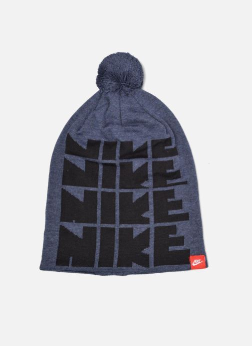 Muts Nike Futura DNA Beanie-Red Bonnet Blauw detail