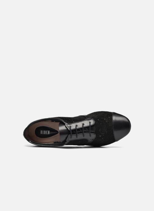 Zapatos con cordones Bloch Eloïse 2 Negro vista lateral izquierda