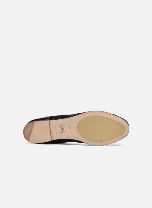 Zapatos con cordones Bloch Eloïse 2 Negro vista de arriba