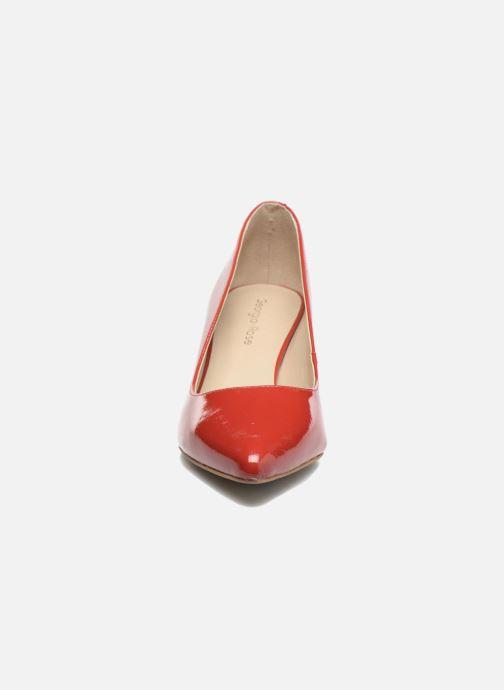 Escarpins Georgia Rose Galacy Rouge vue portées chaussures