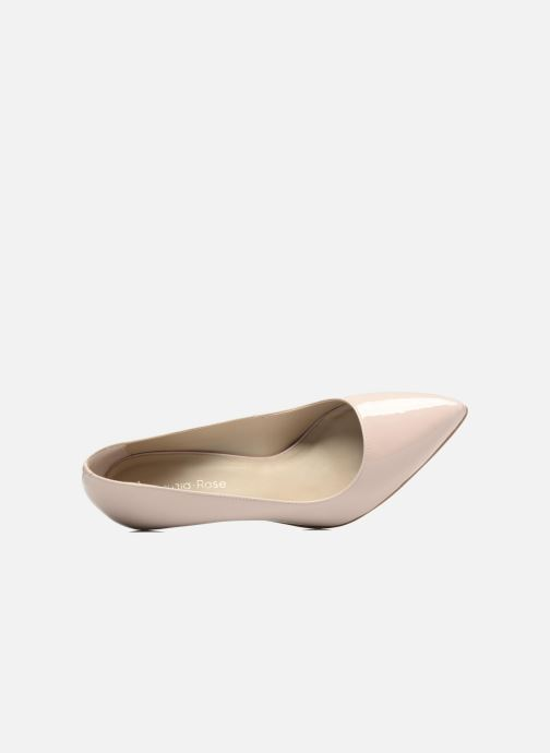 Zapatos de tacón Georgia Rose Gatou Beige vista lateral izquierda