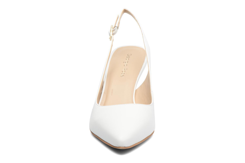 High heels Georgia Rose Gatouba White model view