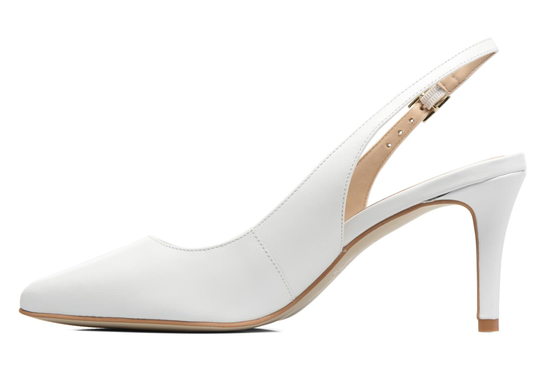 High heels Georgia Rose Gatouba White front view