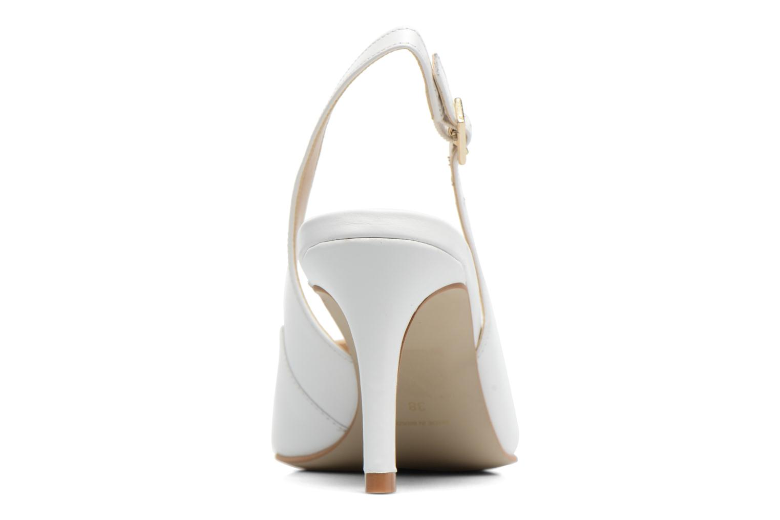 High heels Georgia Rose Gatouba White view from the right