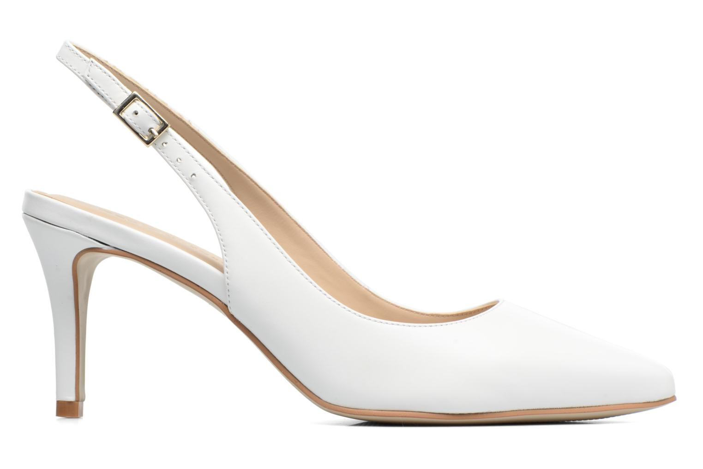 High heels Georgia Rose Gatouba White back view