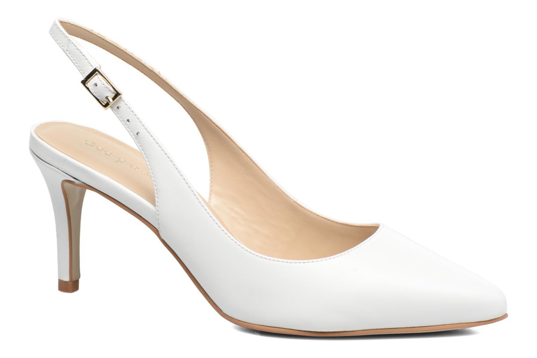 High heels Georgia Rose Gatouba White detailed view/ Pair view