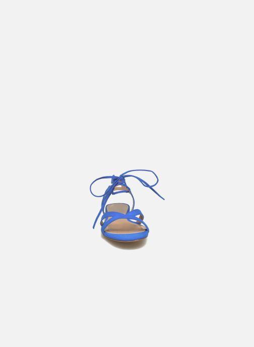Sandales et nu-pieds I Love Shoes FELICE Bleu vue portées chaussures