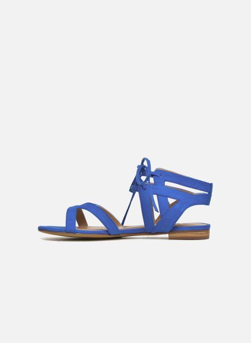 Sandales et nu-pieds I Love Shoes FELICE Bleu vue face