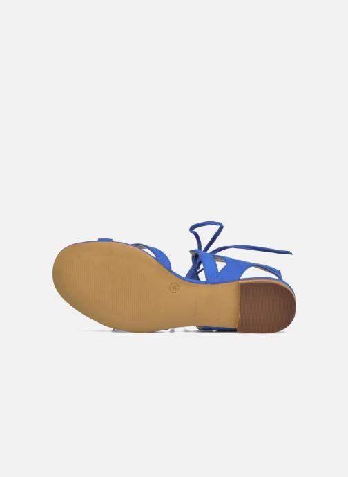 Sandales et nu-pieds I Love Shoes FELICE Bleu vue haut