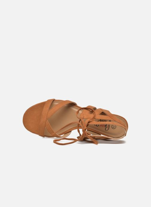 Sandalias I Love Shoes FELICE Marrón vista lateral izquierda