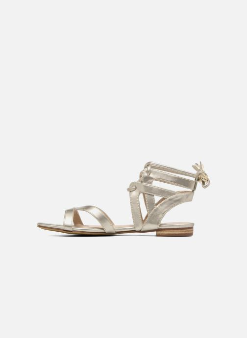 Sandals I Love Shoes FELICE Bronze and Gold front view