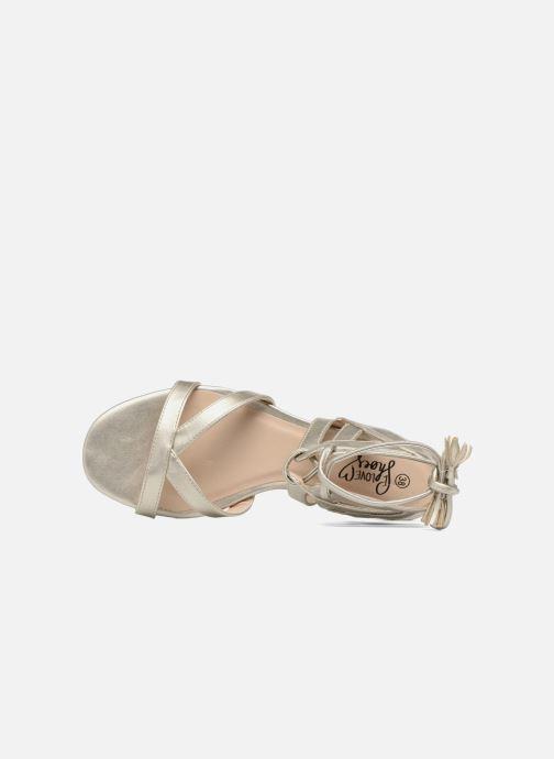 Sandales et nu-pieds I Love Shoes FELICE Or et bronze vue gauche