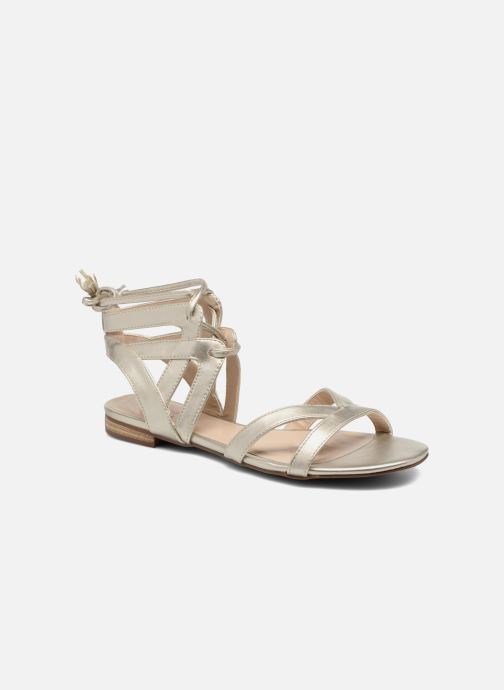 Sandals I Love Shoes FELICE Bronze and Gold detailed view/ Pair view