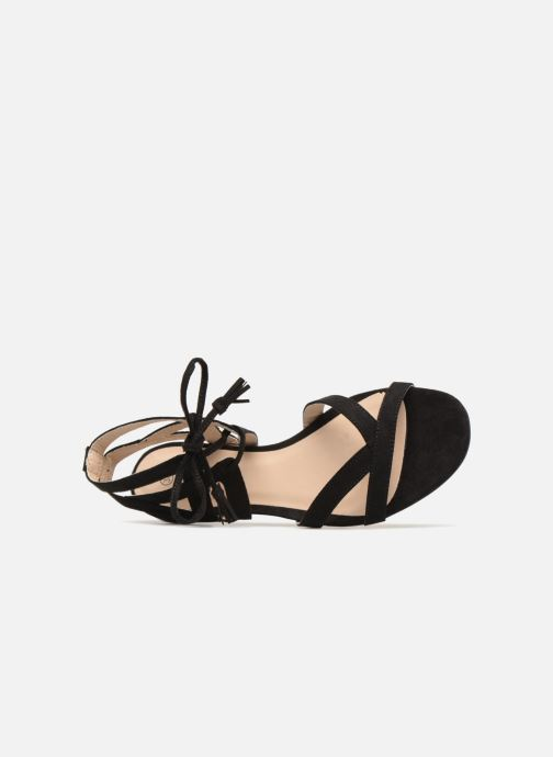 Sandals I Love Shoes FELICE Black view from the left