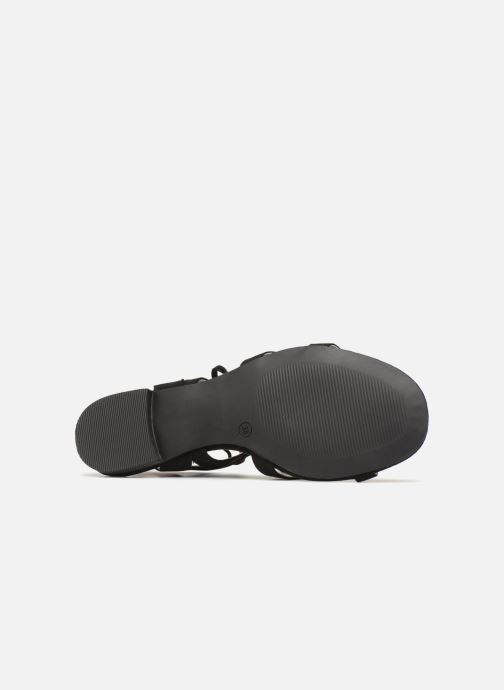 Sandales et nu-pieds I Love Shoes FELICE Noir vue haut