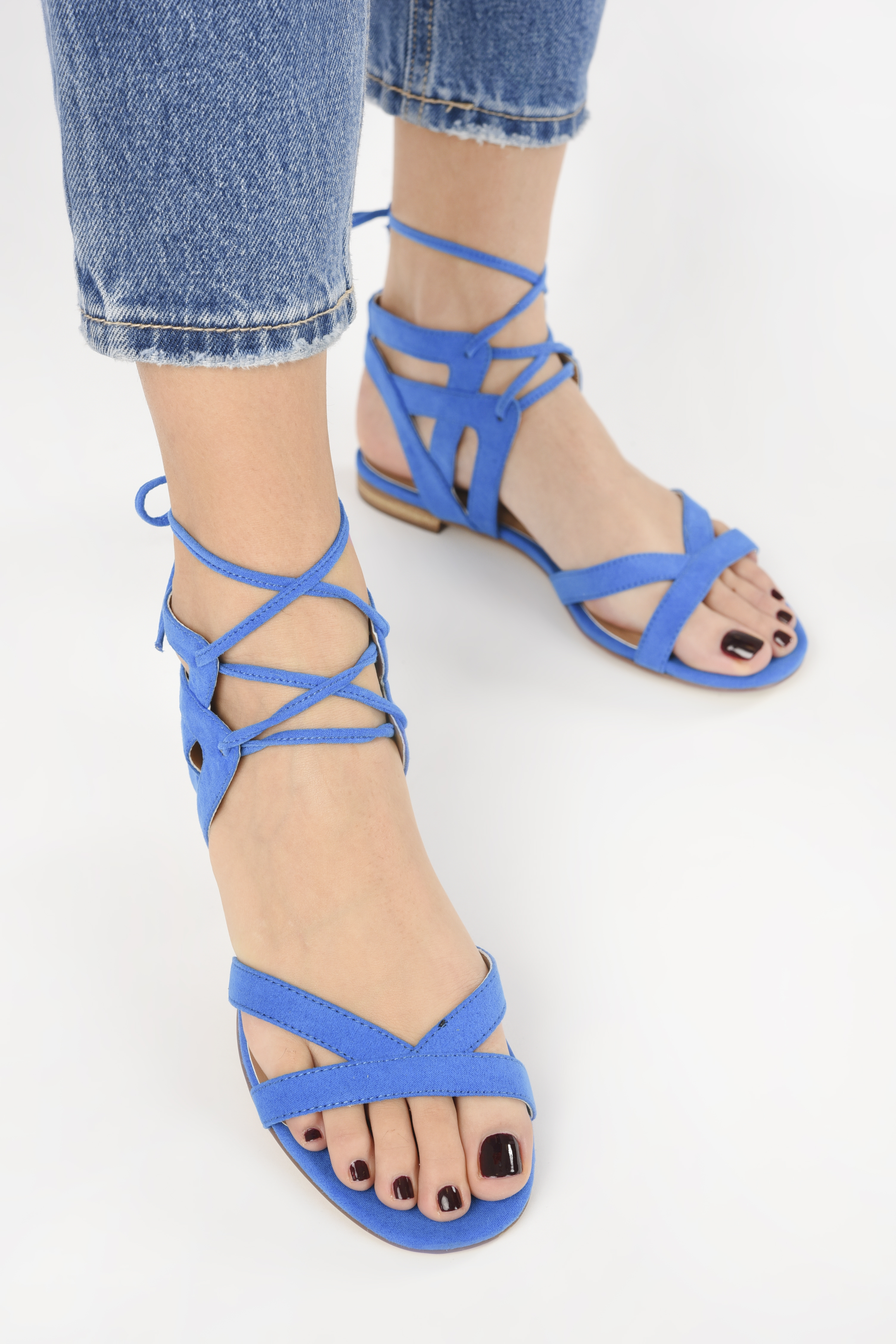 Sandalias I Love Shoes FELICE Azul vista de abajo