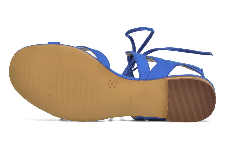Sandalias I Love Shoes FELICE Azul vista de arriba