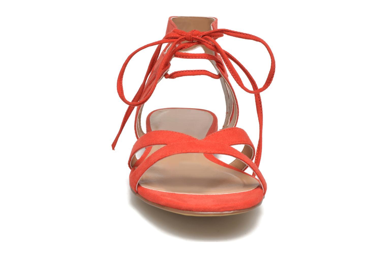Sandalias I Love Shoes FELICE Rojo vista del modelo