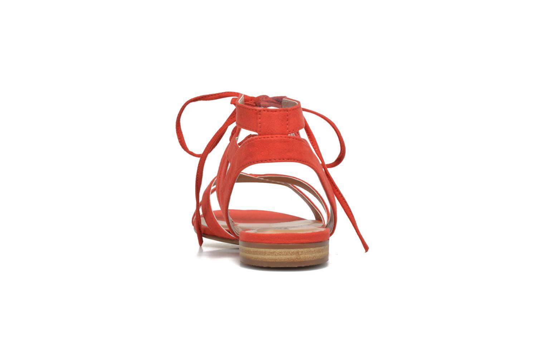 Sandalias I Love Shoes FELICE Rojo vista lateral derecha