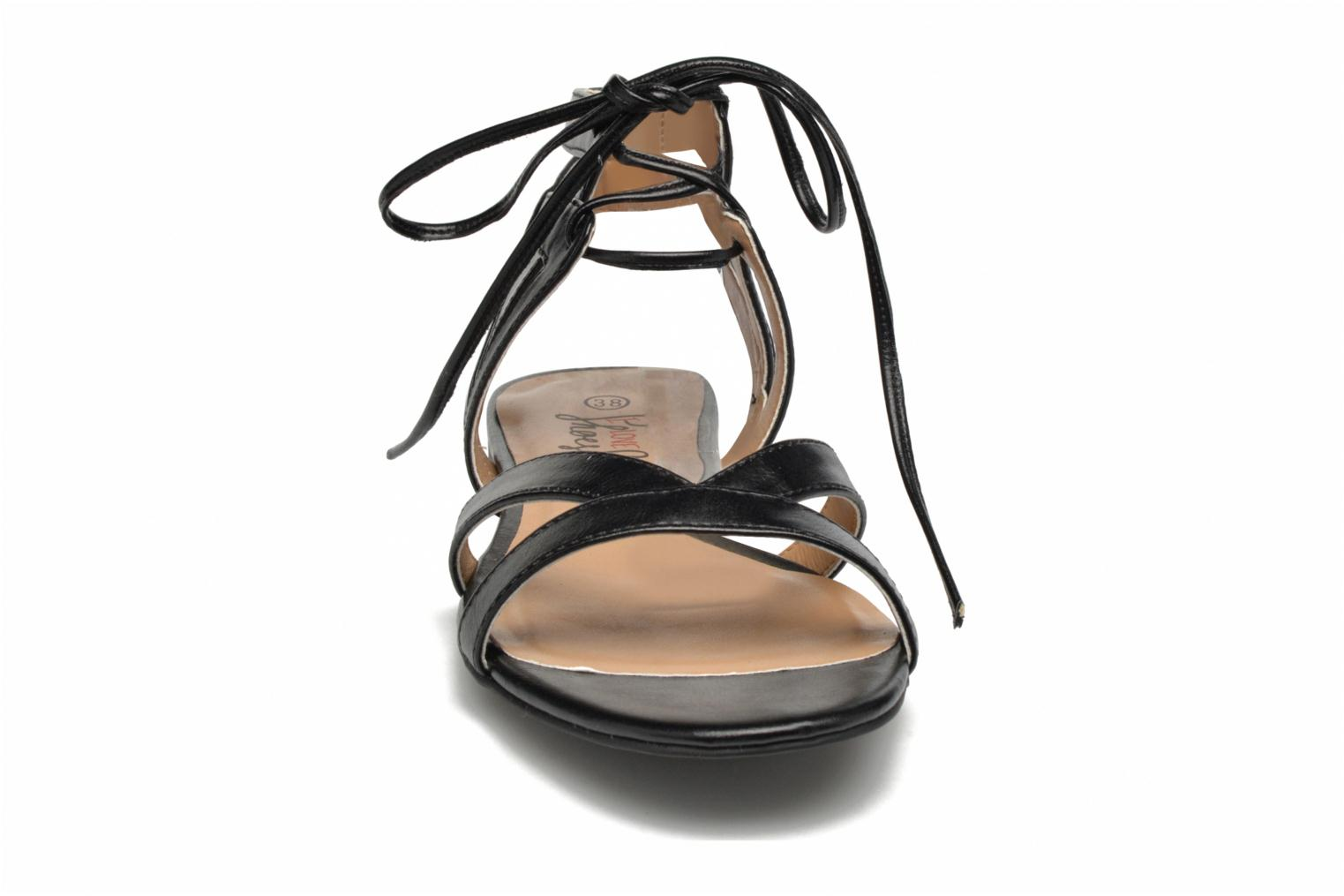 Sandals I Love Shoes FELICE Black model view
