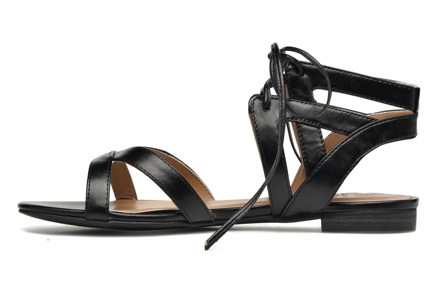 Sandals I Love Shoes FELICE Black front view