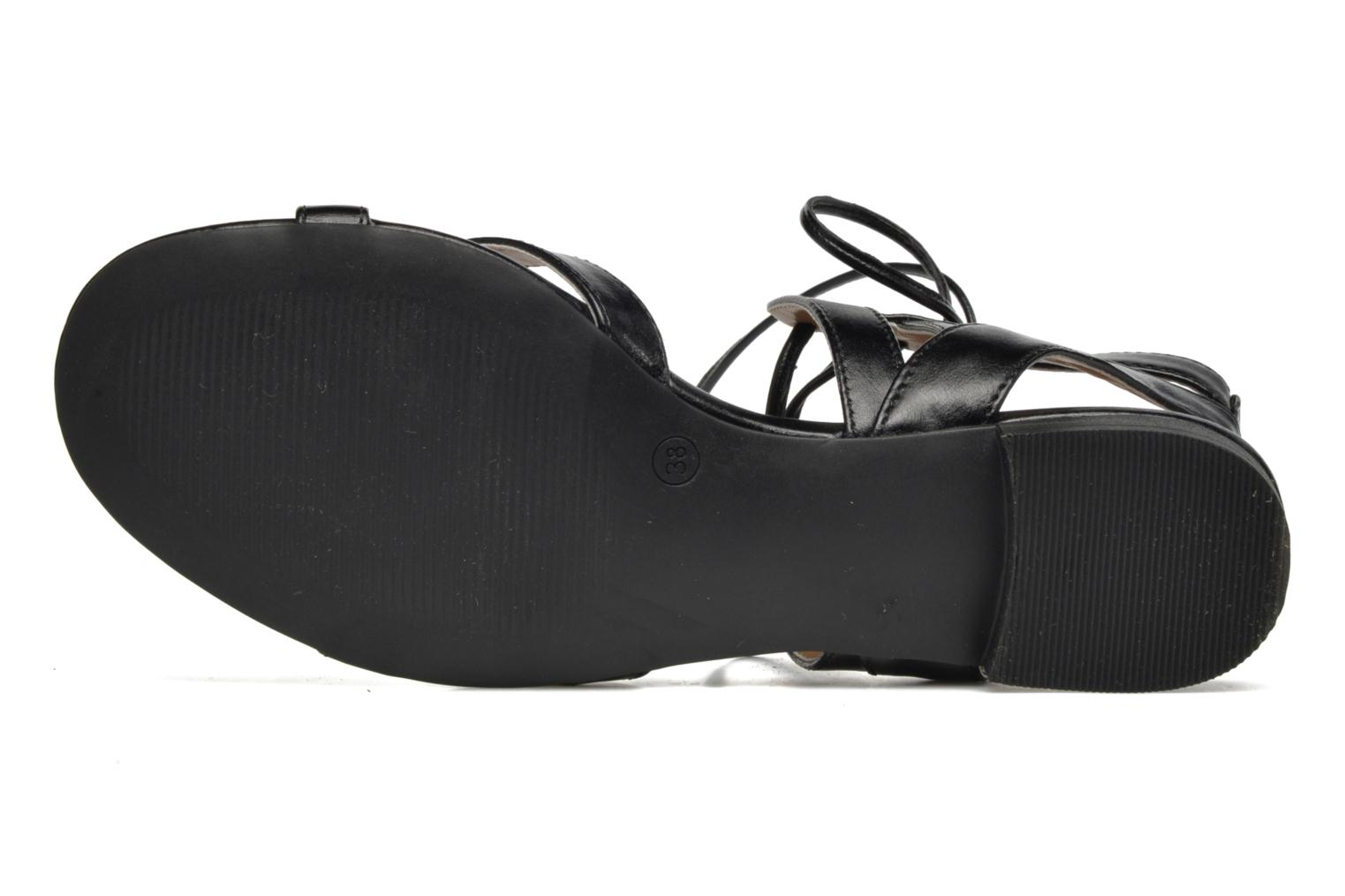 Sandals I Love Shoes FELICE Black view from above
