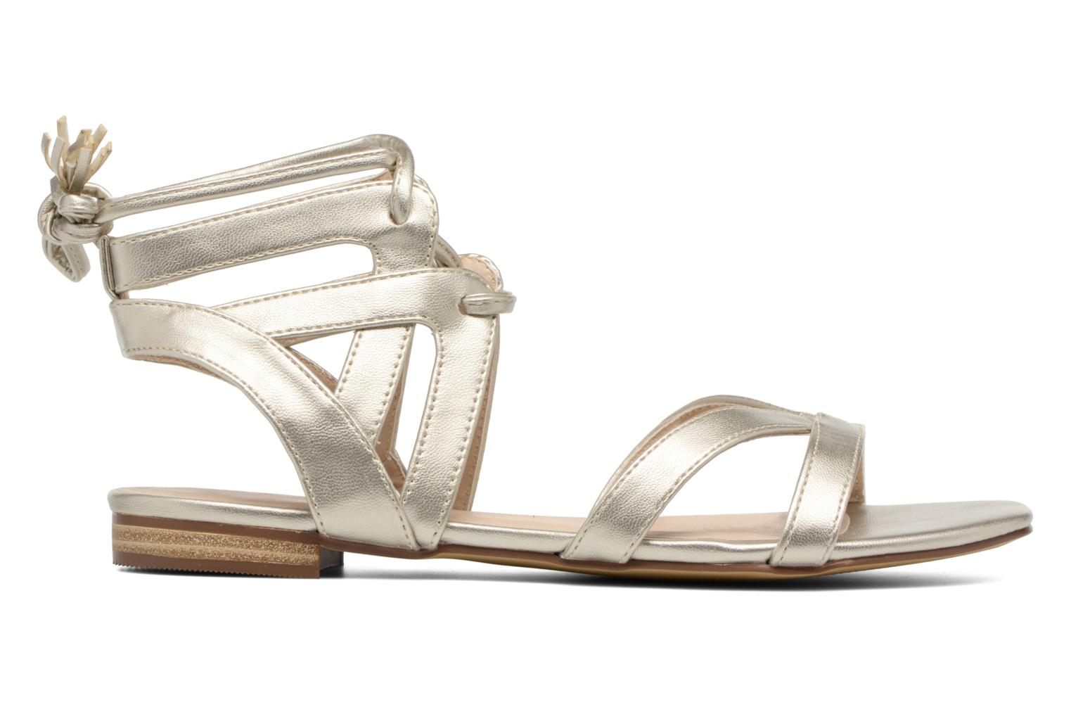 Sandals I Love Shoes FELICE Bronze and Gold back view