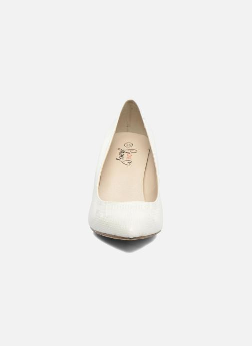 High heels I Love Shoes FIRONE White model view