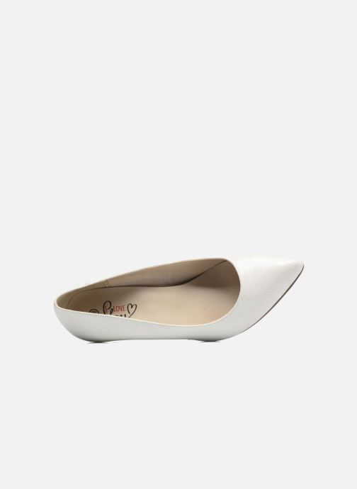 Escarpins I Love Shoes FIRONE Blanc vue gauche