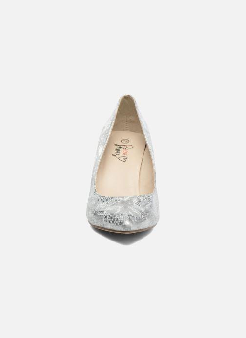 High heels I Love Shoes FIRONE Beige model view