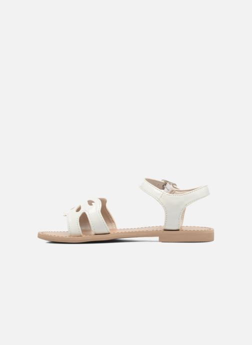 Sandals I Love Shoes FIDELI White front view
