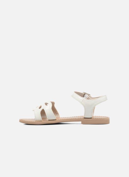 Sandals I Love Shoes FIDELI White front view
