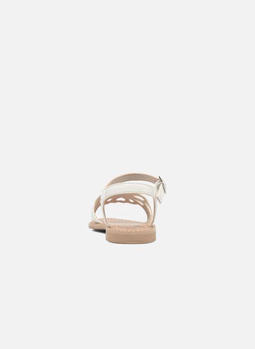 Sandalen I Love Shoes FIDELI weiß ansicht von rechts