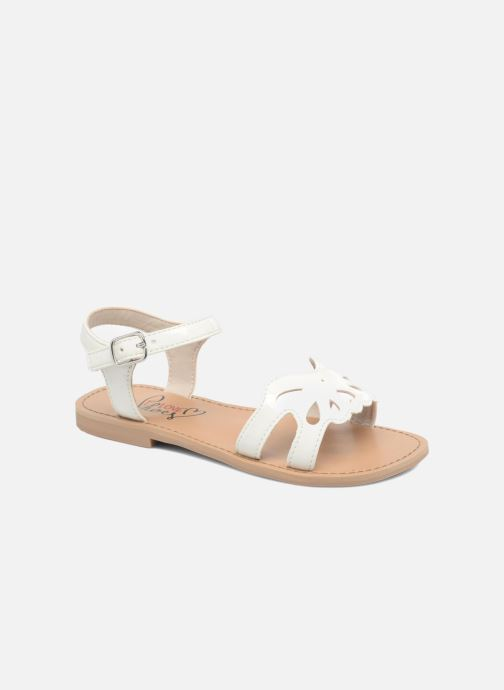 Sandals I Love Shoes FIDELI White detailed view/ Pair view