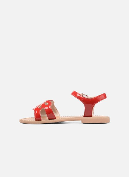 Sandales et nu-pieds I Love Shoes FIDELI Rouge vue face