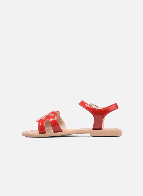 Sandalen I Love Shoes FIDELI rot ansicht von vorne